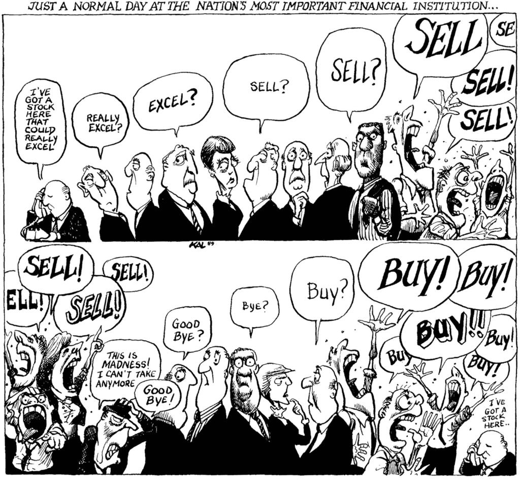 Buy from pessimists and sell to optimists